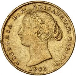 Australie - Souverain 1866