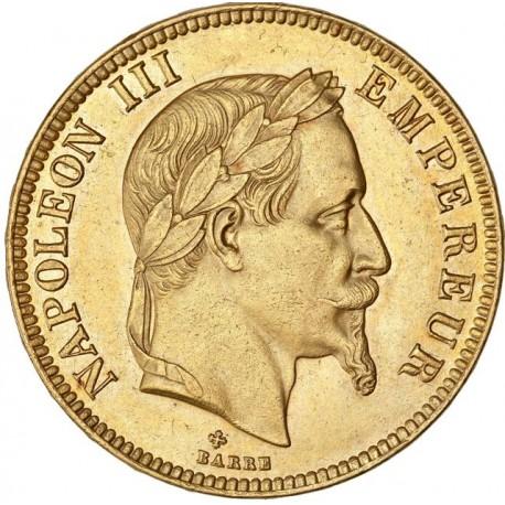 100 francs Napoléon III 1869 BB