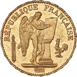 20 francs Génie 1889 A