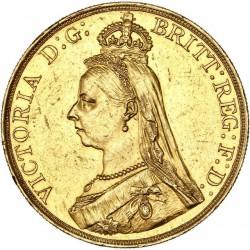 Grande Bretagne - 5 livres Jubilée 1887