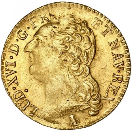 Louis XVI - Louis d'or 1786 T