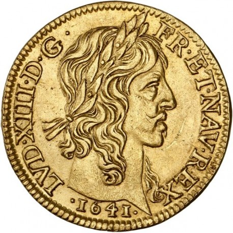 Louis XIII - Louis d'or - 1641 A