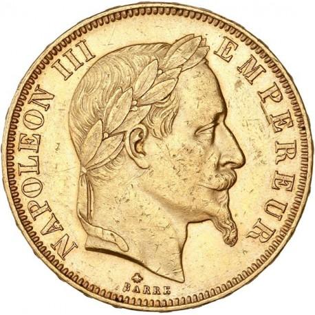 50 francs Napoléon III 1862A