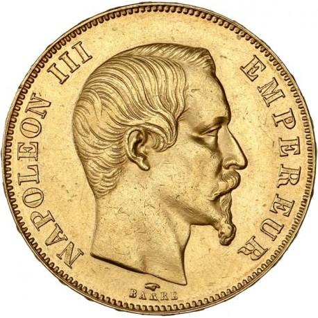 50 francs Napoléon III 1857 A