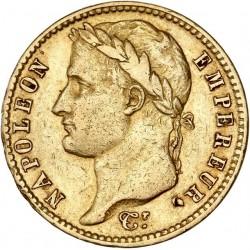 20 francs Napoléon Ier - 1809 A