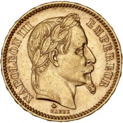 20 francs Napoléon III - 1861 A