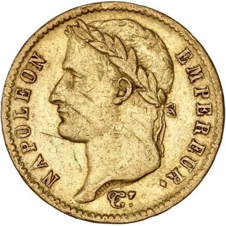20 francs Napoléon Ier - 1812 A Paris