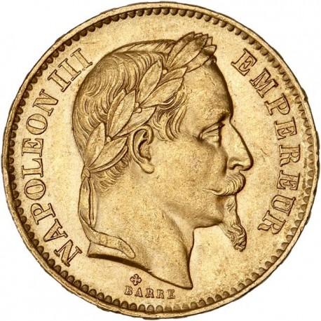 20 francs Napoléon III - 1868 BB