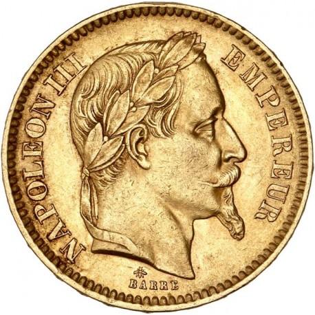 20 francs Napoléon III 1864 A