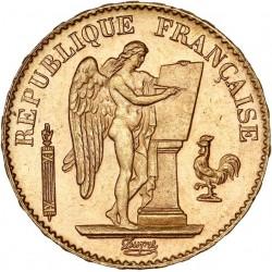 20 francs Génie 1893 A