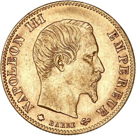 5 francs Napoléon III 1860 BB