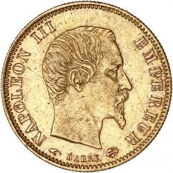5 francs Napoléon III 1857 A