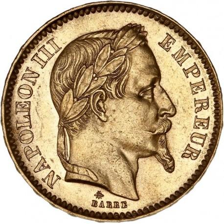 20 francs Napoléon III - 1863 A