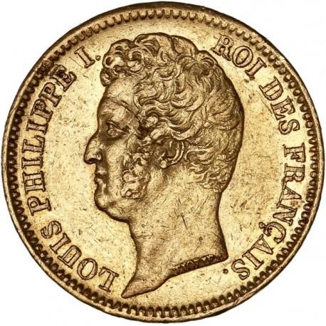 20 francs Louis Philippe Ier  1831 W
