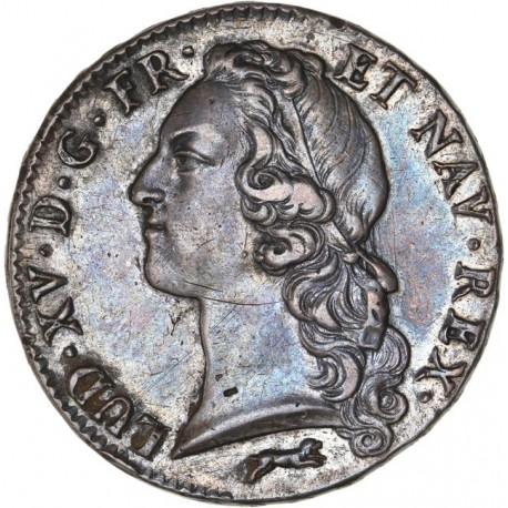 Louis XV - Ecu au bandeau 1761 R
