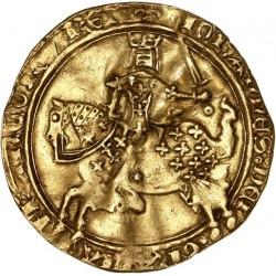 Jean II le Bon - Franc à cheval