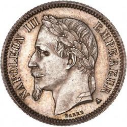 1 franc Napoléon III 1869  A