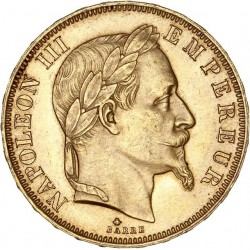50 francs Napoléon III 1862 A