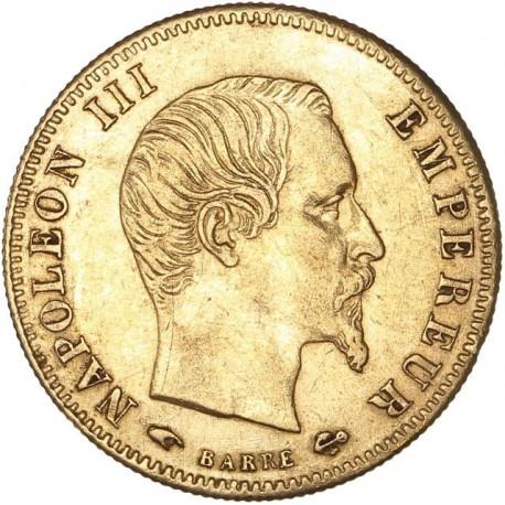 5 francs Napoléon III 1856 A