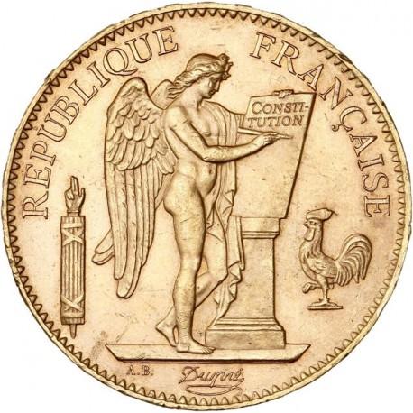 100 francs Génie 1901