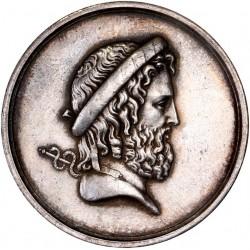 Médaille argent des Hôpitaux Civils de Paris