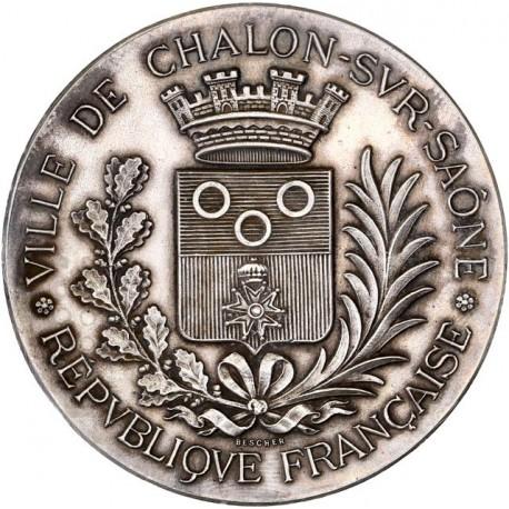 Médaille argent Exposition Industrielle de Chalon sur Saône