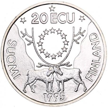 Finlande - 20 écu 1995