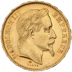 20 francs Napoléon III - 1868 A