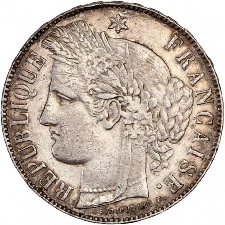 5 francs Cérès 1871 K