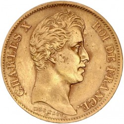 40 francs Charles X 1830 A
