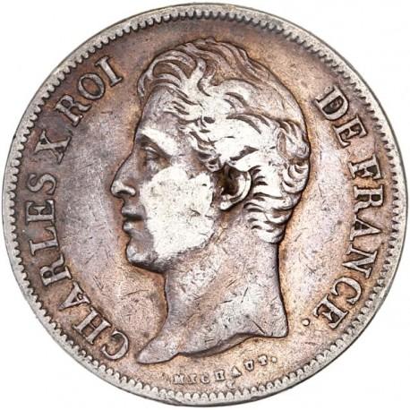 5 francs Charles X 1828 A