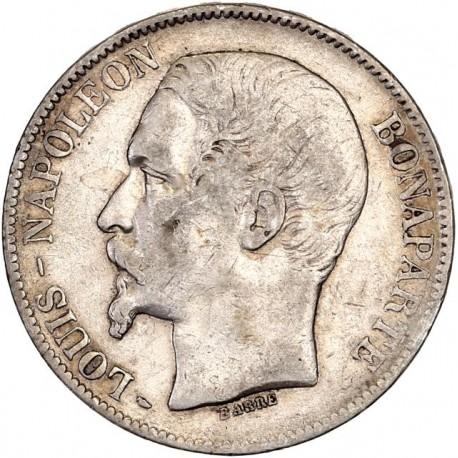 5 francs Louis Napoléon 1852 A