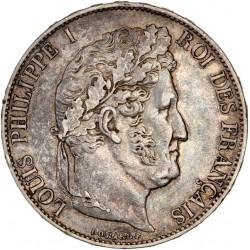 5 francs Louis Philippe Ier 1847 A