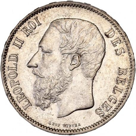 Belgique - 5 francs 1849 Léopold II