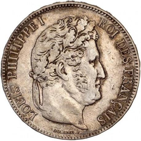 5 francs Louis Philippe Ier 1834 A