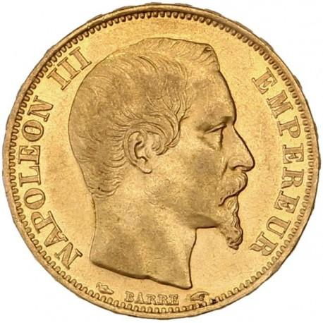 20 francs Napoléon III - 1853 A