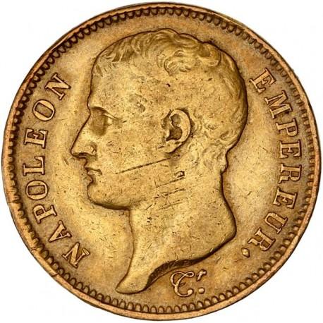 40 francs Napoléon Ier 1807 W