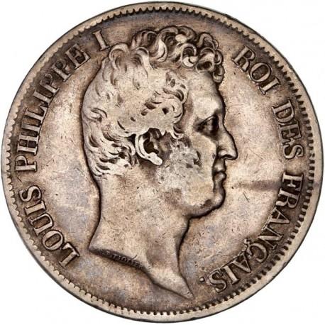 5 francs Louis Philippe Ier 1831 W