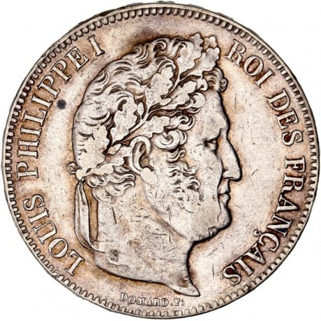 5 francs Louis Philippe Ier 1835 B
