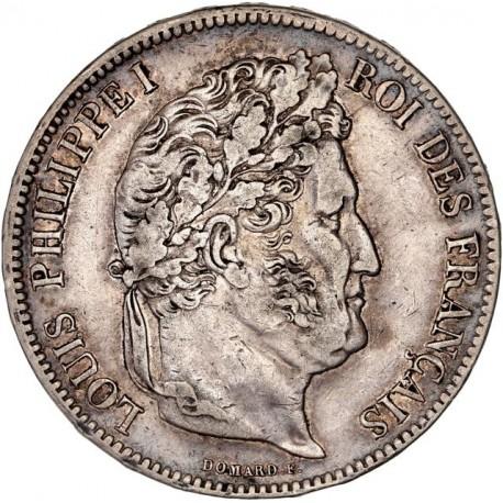 5 francs Louis Philippe Ier 1837 W