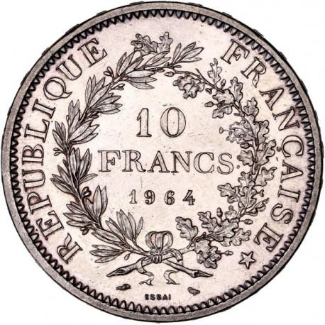 10 francs Hercule 1964 ESSAI