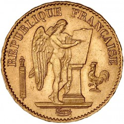 20 francs Génie 1875 A