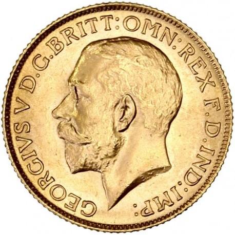 Grande Bretagne - Souverain George V - 1925