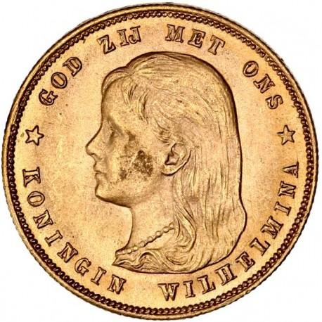 Pays-Bas 10 gulden 1897