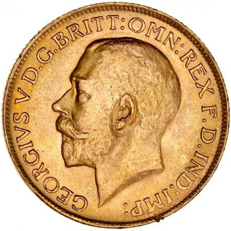 Afrique du Sud - Souverain George V - 1927 SA