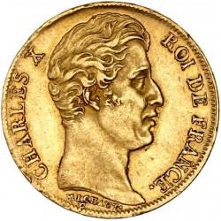 20 francs Charles X 1826 A