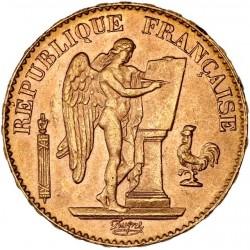 20 francs Génie 1897