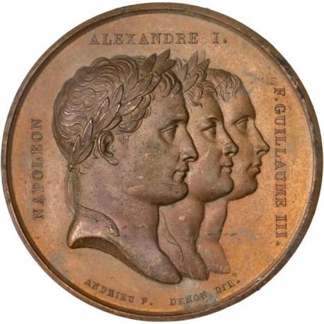 Napoléon Ier - Médaille Paix de Tilsit