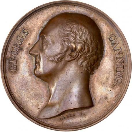 Médaille - Hommage à Georges Canning