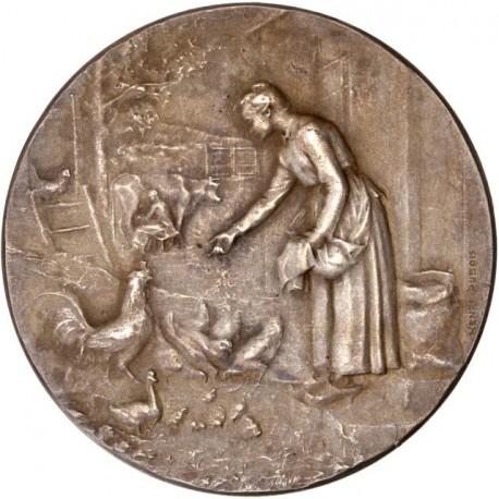 Médaille argent Club Avicole de Touraine